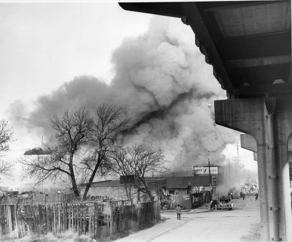 Fire Fighters - Raven Feed Plant Fire 4-30-1959.tif