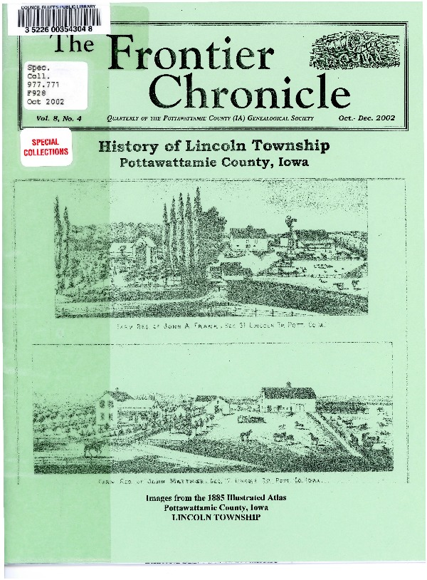 Frontier Chronicle
