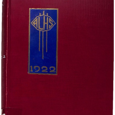 The Crimson and Blue 1922