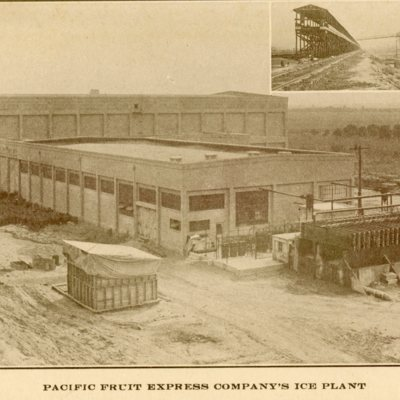Pacific Fruit Express Company's Ice Plant
