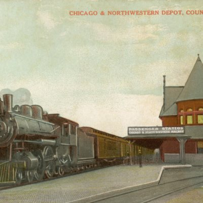 Chicago & Northwestern Depot, Council Bluffs, IA