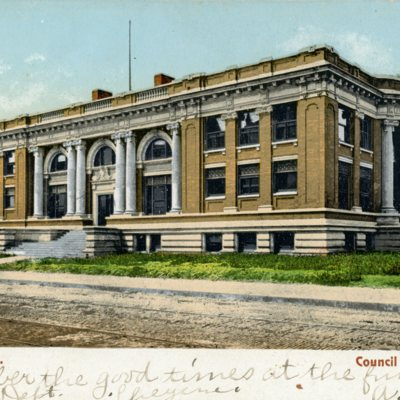 Postcards of the Council Bluffs Public Library