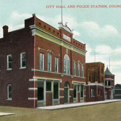 City Hall and Police Station