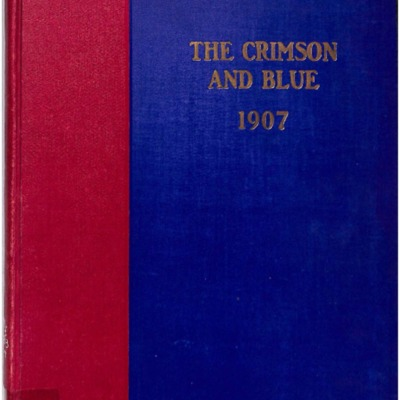 The Crimson and Blue 1907