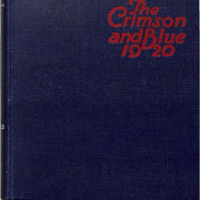 The Crimson and Blue 1920