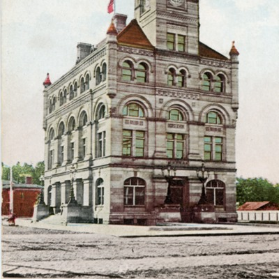 Postcards of Post Office