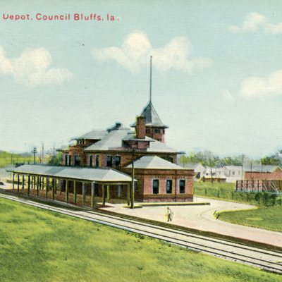 Illinois Central Station, Council Bluffs, IA