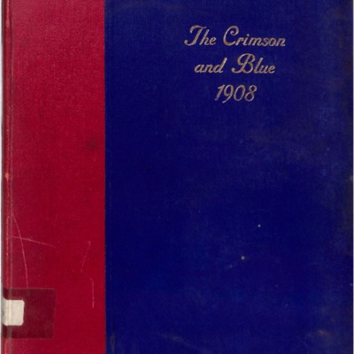 The Crimson and Blue 1908
