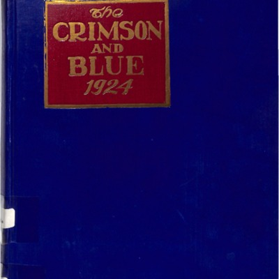 The Crimson and Blue 1924
