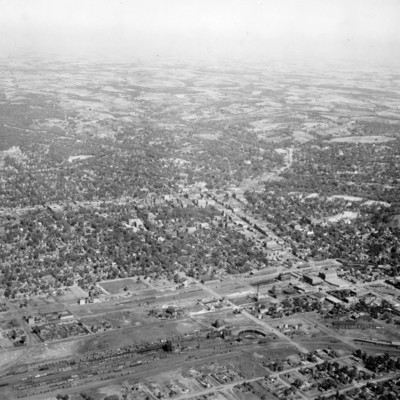 Aerial view of Council Bluffs