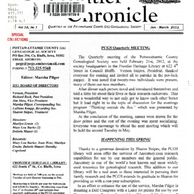 Frontier Chronicle  Vol. 18 No. 1 Jan. - Mar. 2012.pdf