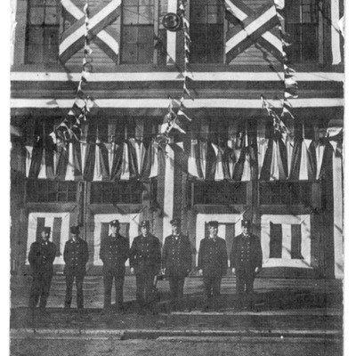 Fire Department Rescue 3 Station Bryant & N. Main ~ 1905 Fire Assn Convention.tif