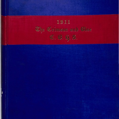 The Crimson and Blue 1911
