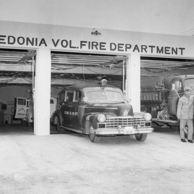 Fire Fighters - 'Donia's firehouse 1-28-1959.tif