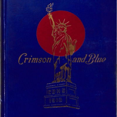 The Crimson and Blue 1918