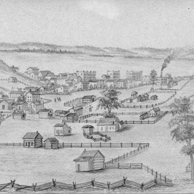 1-Simons Print - Council Bluffs in 1858.tif