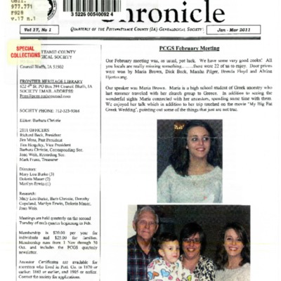 Frontier Chronicle  Vol. 17 No. 1 Jan. - Mar. 2011.pdf