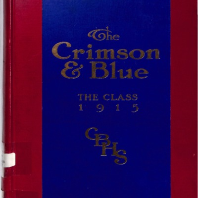 The Crimson and Blue 1915
