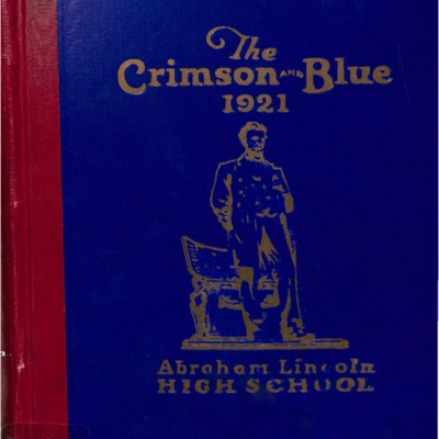 The Crimson and Blue 1921