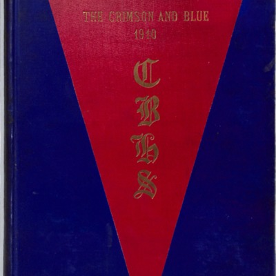 The Crimson and Blue 1910