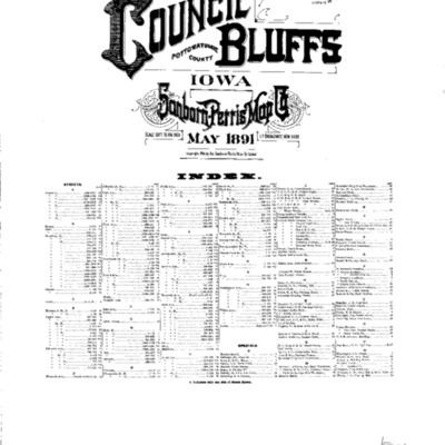 Council Bluffs May 1891 - Index.pdf