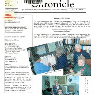 Frontier Chronicle  Vol. 16 No. 1 Jan. - Mar. 2010.pdf