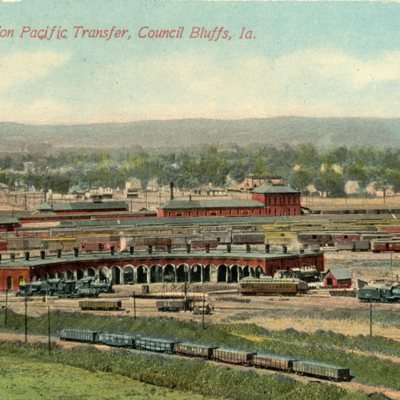 Postcards of the Union Pacific Transfer Station