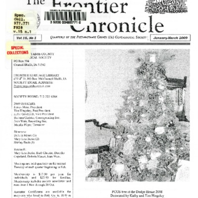 Frontier Chronicle Vol 15 No. 1 Jan - Mar 2009.pdf