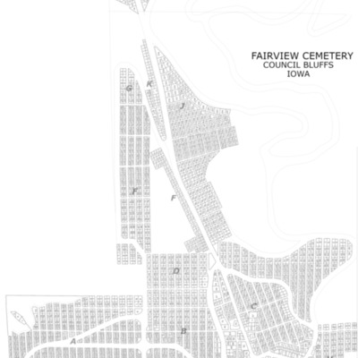 Fairview Cemetery Map