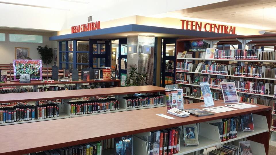 public library teen section
