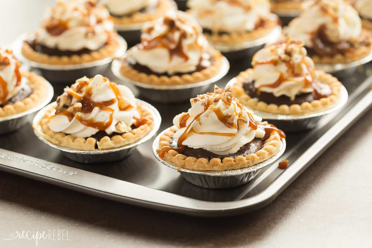 Tinker Zone: Mini Pudding Pies